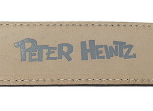 Ledergürtel Peter Heintz Essen